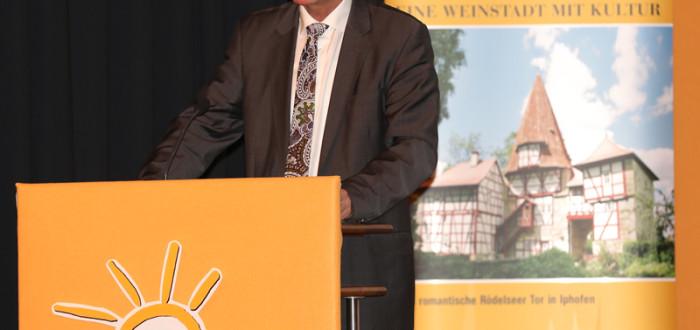 Vortrag von MdL Günther Felbinger