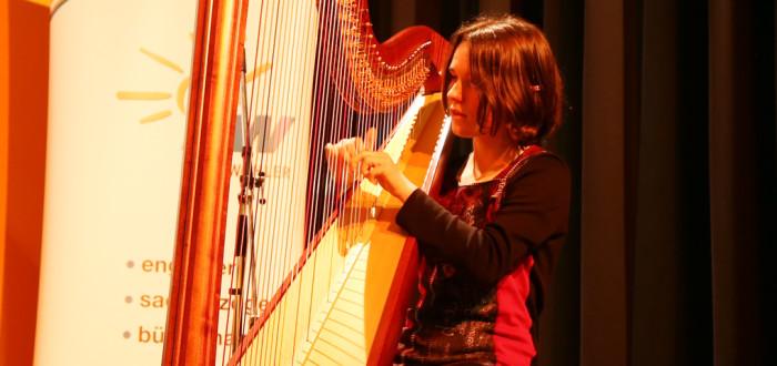 Musikalische Begleitung - Konzert der jungen Harfinistin Anna Stier