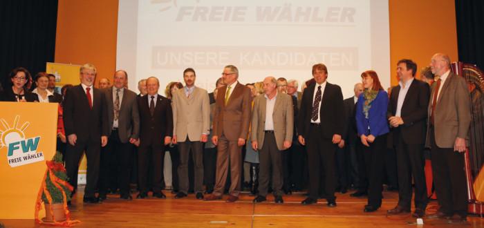 Vorstellung der Kandidaten aus dem Landkreis Kitzingen
