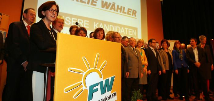 Vorstellung der Kreistagskandidaten durch Frau Dr.Susanne Knof
