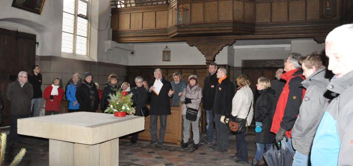 Unterstützung der Kirchengemeinden durch Zuschüsse bei der Sanierung der Blutskirche