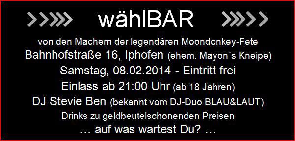 waehlBAR_Event_FWI_2014