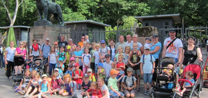 Ausflug in den Tiergarten in Nürnberg - Beitrag zum Iphöfer Ferienpass 2014