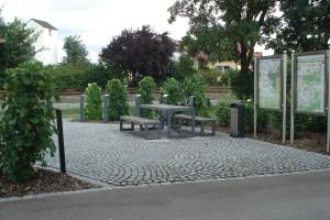 Neugestaltete Plätze - Nenzenheim