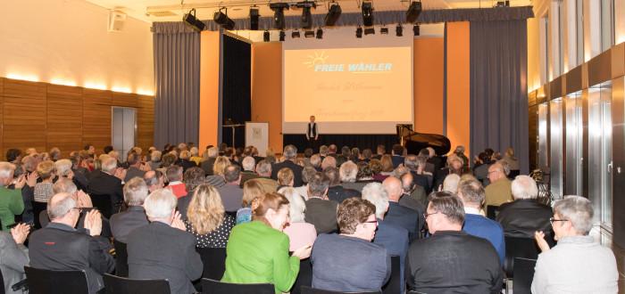 Neujahrs-Empfang in der Karl-Knauf-Halle