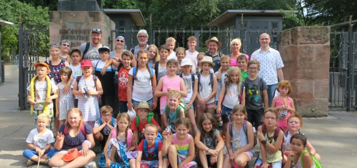 Tiergarten Nürnberg - Gruppenfoto
